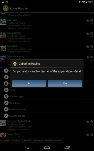 Lucky Patcher 6.4.5 apk screenshot